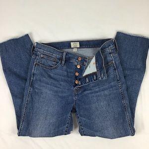 J. Crew Distressed Women's Jeans Size 29.